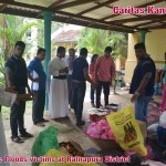 Relief to the Floods victims at Ratnapura District